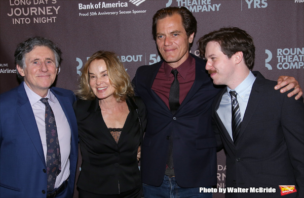 Gabriel Byrne, Jessica Lange, Michael Shannon, and John Gallagher Jr.  Photo
