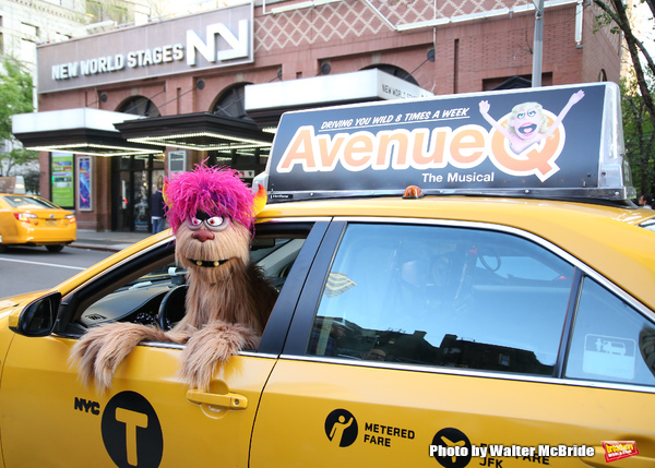 Trekkie Monster drives a New York City 'Avenue Q'