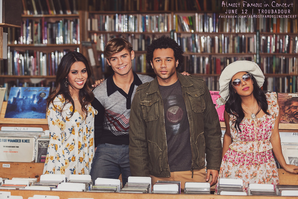 Ashley Argota, Corbin Bleu, Garrett Clayton, Chrissie Fit