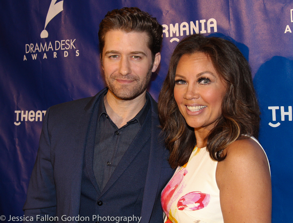 Matthew Morrison and Vanessa Williams