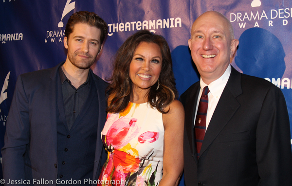 Matthew Morrison, Vanessa Williams and Charles Wright