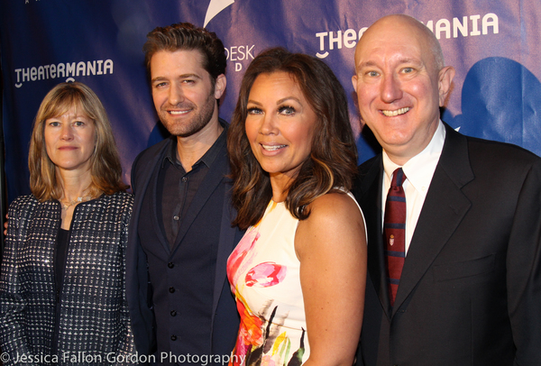 Gretchen Shugart, Matthew Morrison, Vanessa Williams and Charles Wright Photo