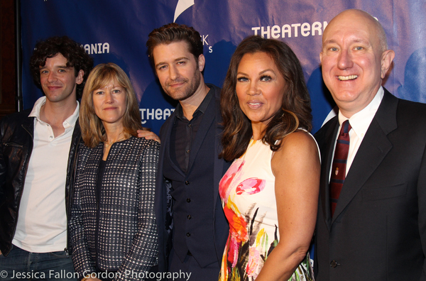 Michael Urie, Matthew Morrison, Vanessa Williams and Charles Wright