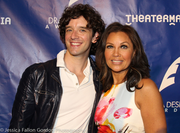 Michael Urie and Vanessa Williams