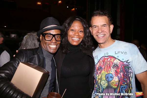 Billy Porter, Stephanie Pope and Brian Stokes Mitchell