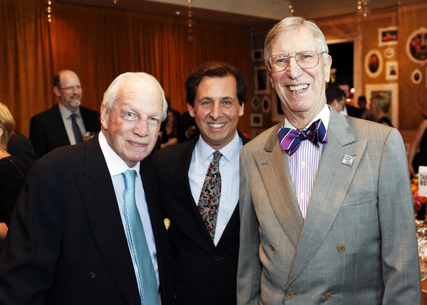 James M. Trapp, Criss Henderson and William Jentes Photo