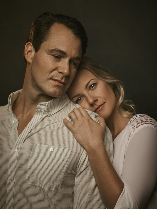 Photo Flash: First Look at Matt Bogart & Whitney Bashor in Costume for Off-Broadway's HIMSELF AND NORA