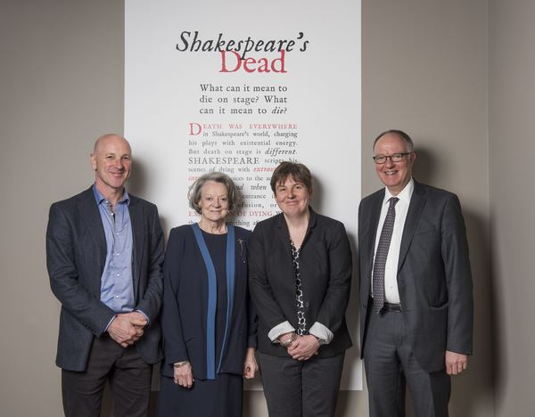 Simon Palfrey, Maggie Smith, Emma Smith and Richard Ovenden