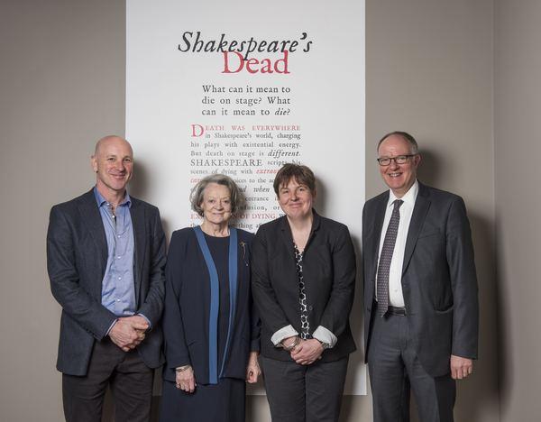 Simon Palfrey, Maggie Smith, Emma Smith and Richard Ovenden Photo