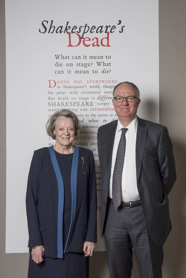 Photo Flash: Dame Maggie Smith Opens SHAKESPEARE'S DEAD Exhibition at Oxford