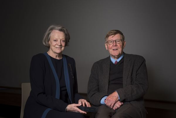 Maggie Smith and Alan Bennett