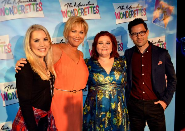 Kristen Alderson, Tonya Walker, Kathy Brier and Jason Tam