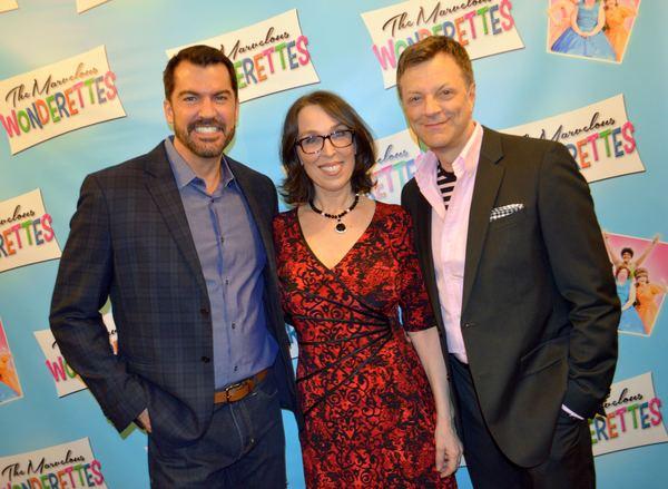 Susan Mosher, Jim Caruso and company Photo