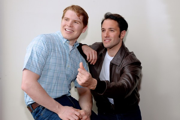 Herb Porter as Richie Cunningham and Nick Varricchio as Fonzie