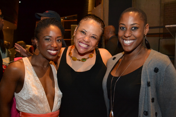 Felicia Curry, Caroline Clay and guest