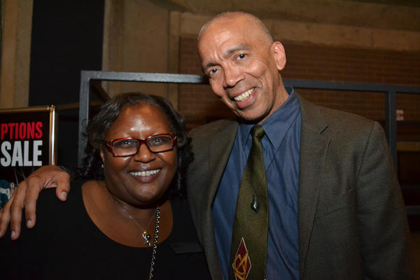 Arena Stage chair elect Judith N. Batty and  Timothy Douglas