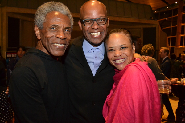 Andre De Shields, Michael Anthony Williams and Caroline Clay