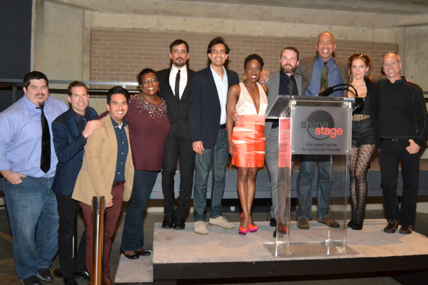 Photo Flash: Andre De Shields and More Celebrate DISGRACED Opening at Arena Stage