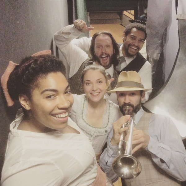 Photo Flash: BRIGHT STAR, ON YOUR FEET, and More Take Saturday Intermission Pics!
