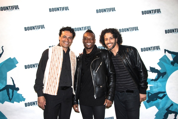 Daniel Fetecua, Rickey Tripp and Luis Salgado