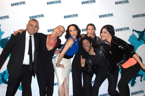 Erick Montoya, Vania Masias, Gabriela Garcia, Heather Hogan, Luis Salgado and  Denisse Ambert