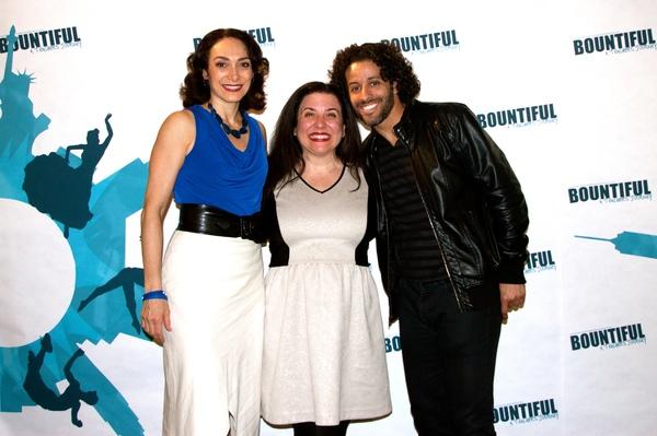 Gabriela Garcia, Lucille DiCampli and Luis Salgado