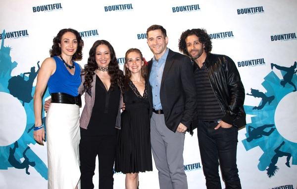 Gabriela Garcia, Valeria Cossu, Rebeca Thomas, Matthew Steffens and Luis Salgado Photo