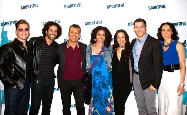Jack Noseworthy, Luis Salgado, Sergio Trujillo, Liz Ramos, Valeria Cossu, Matthew Ste Photo