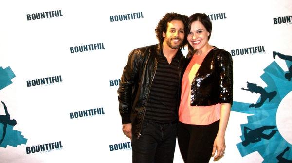 Luis Salgado and Denisse Ambert