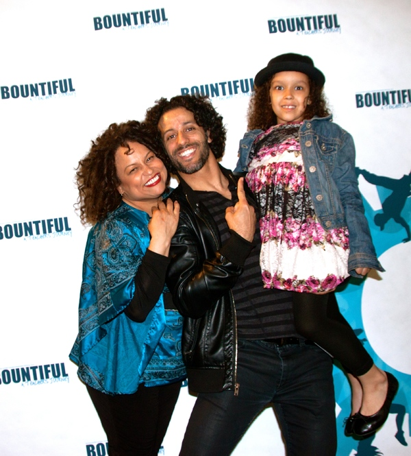 Rhina Valentin, Luis Salgado and a bountiful guest