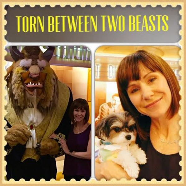 Daisy Eagan is ''torn between two beasts''