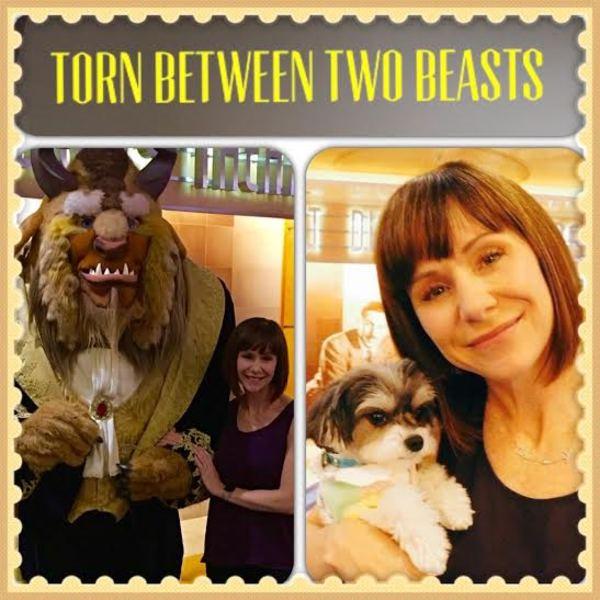 Photos: Broadway's Susan Egan Poses with Tinkerbelle the Dog Aboard the Disney Magic