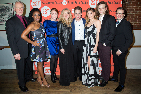 John Dossett, Kristolyn Lloyd, Jennifer Laura Thompson, Rachel Bay Jones, Ben Platt, Laura Dreyfuss, Mike Faist, Will Roland