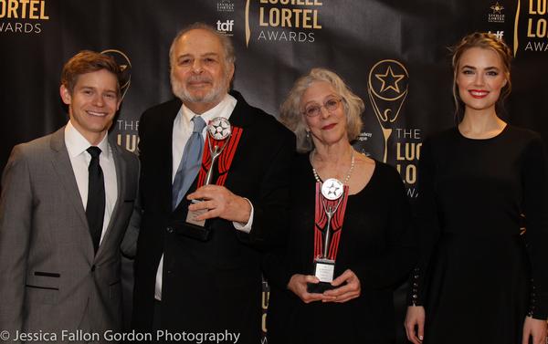 Andrew Keenan-Boler, Alfred Uhry, Martha Clarke and Rebecca Rittenhouse