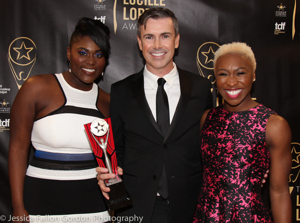 Danielle Brooks, Matt McGrath and Cynthia Erivo