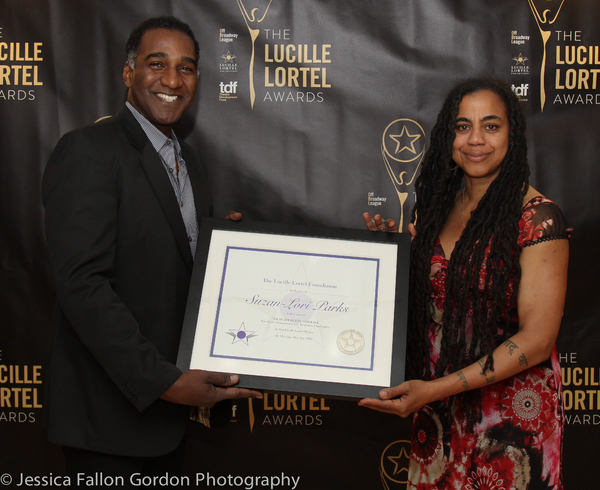 Norm Lewis and Suzan-Lori Parks