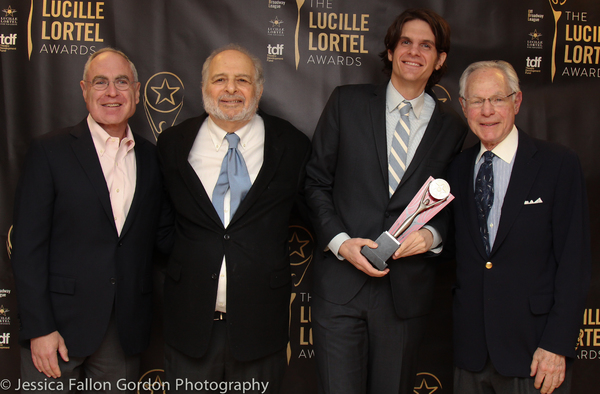 Todd Haimes, Alfred Uhry, Alex Timbers and Robert Waldman