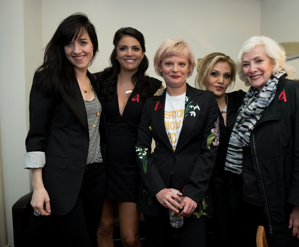 Lena Hall, Cecily Strong, Martha Plimpton, Orfeh, Betty Buckley