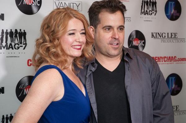 Leslie Becker with producer Joe Vulpis