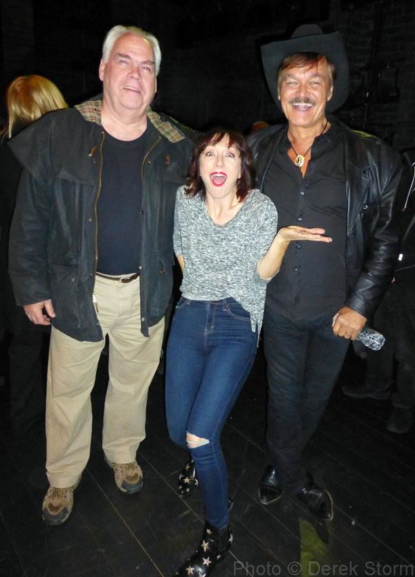 Michael Mulheren, Carmen Cusack & Randy Jones