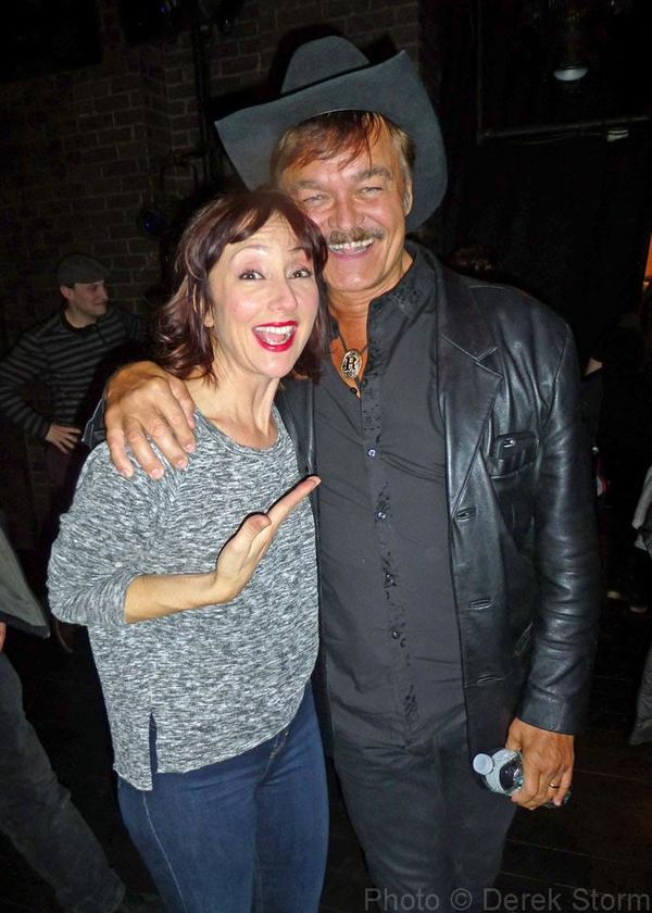 Photo Flash: Randy Jones & Victor Garber Visit Broadway's BRIGHT STAR
