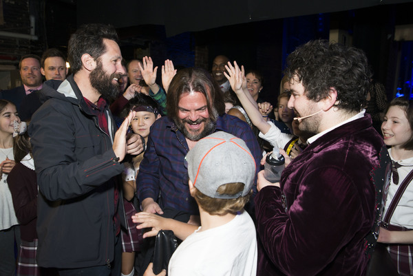 Paul Rudd, Alex Brightman, Jack Black & Company