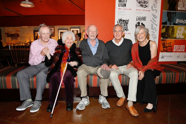 James Greene, Charlotte Rae, cast member/ Alan Mandell and Barry McGovern and Anne Ge Photo