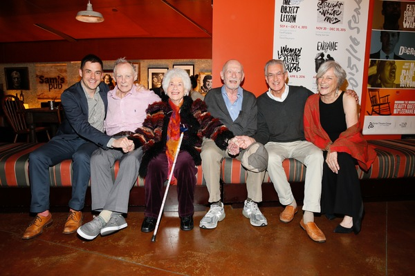 Assistant  John Sloan, James Greene, Charlotte Rae, cast member/ Alan Mandell and Barry McGovern and Anne Gee Byrd