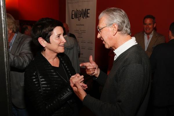 CTG Board President Kiki Ramos Gindler and Barry McGovern Photo