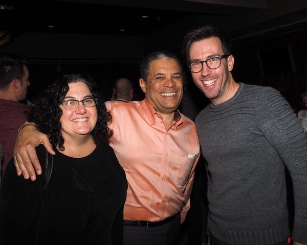 Lisa Passamonte Green and David Green with Lighting Designer Steven Young
