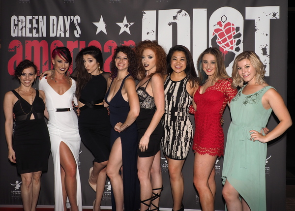 Jordan Kai Burnett, Nina Schreckengost, Ashley Loren, Adrianna Rose Lyons, Charlotte Mary Wen, Bella Hicks, and Ellie Wyman with Dana Solimando