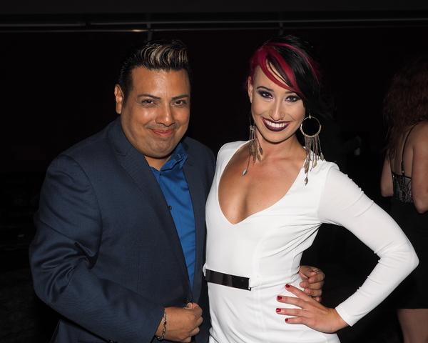 Devis Andrade and Nina Schreckengost