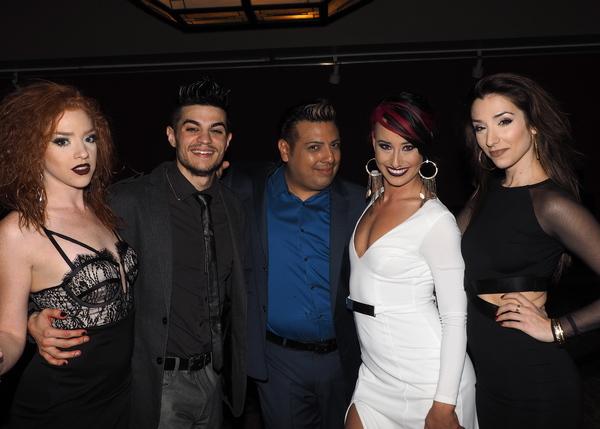 Adrianna Rose Lyons , A.J. Mendoza, Devis Andrade, Nina Schreckengost, and Ashley Loren