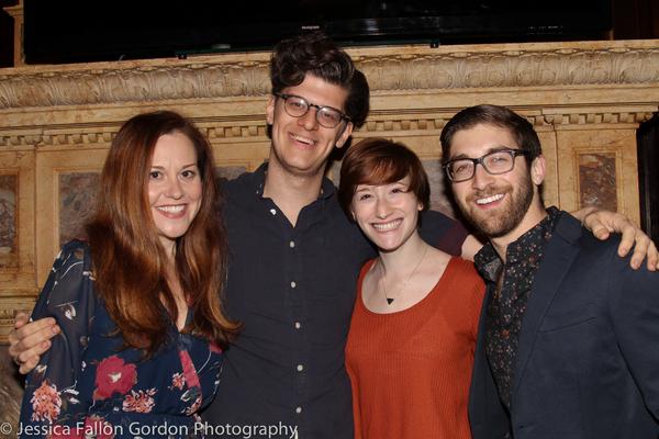 Claire Karpen, James Ortiz, Rachel Sussman and Rob Nanus